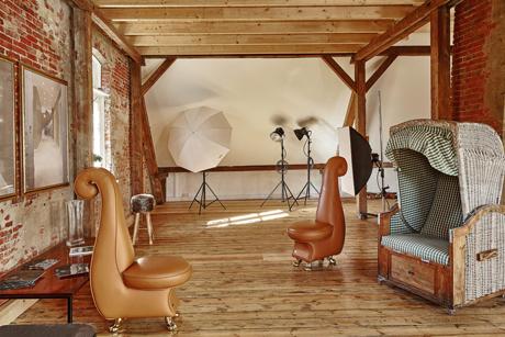 Fotostudio der Werkstatt Bild und Sprache