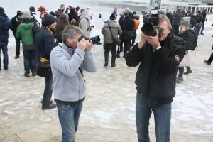 Fototour Maskenzauber Hamburg - Teilnehmer der Fototour der Werkstatt Bild und Sprache
