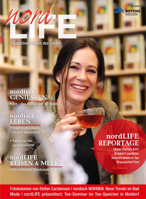 nordLIFE 01-2016 Titelseite