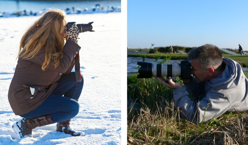 Sabine Stefan-Carstensen und Stefan Carstensen fotografieren