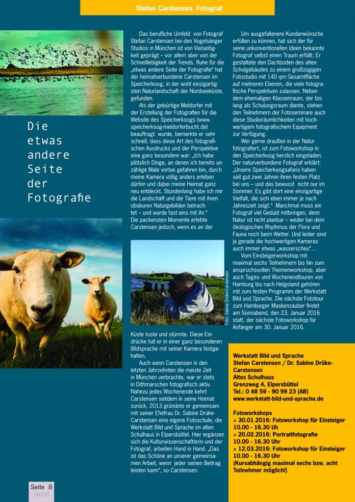 LÜÜD Artikel Stefan Carstensen Fotografie Speicherkoog